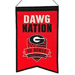 University of Georgia Nation Banner