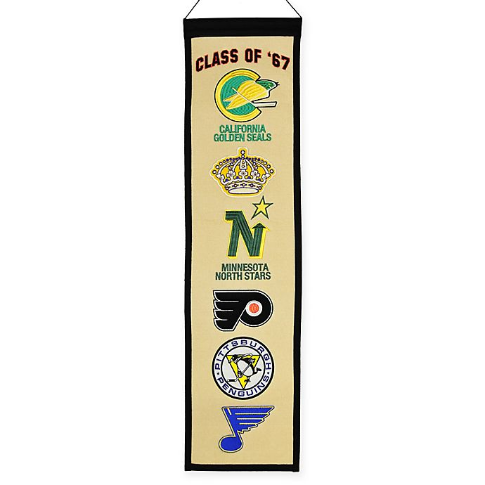 Alternate image 1 for NHL Class of '67 Heritage Banner