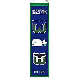 NHL Hartford Whalers Heritage Banner