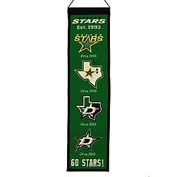 NHL Dallas Stars Heritage Banner