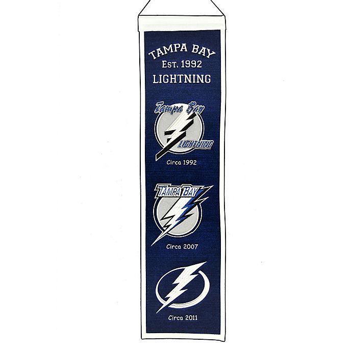 NHL Tampa Bay Lightning Heritage Banner