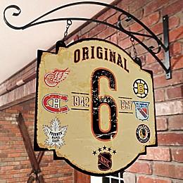NHL Original Six Tavern Sign