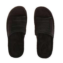Therapedic® Men's Slide Slipper in Black
