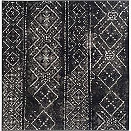 Safavieh Adirondack 4-Foot Square Accent Rug in Black