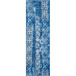 Safavieh Adirondack 2-Foot 6-Inch x 8-Foot Runner in Blue