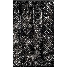 Safavieh Adirondack 4-Foot x 6-Foot Area Rug in Black