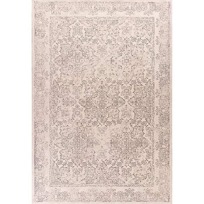Alternate image 1 for Bob Mackie Home Vintage Damascus 3.25-Foot x 5-Foot Area Rug in Ivory