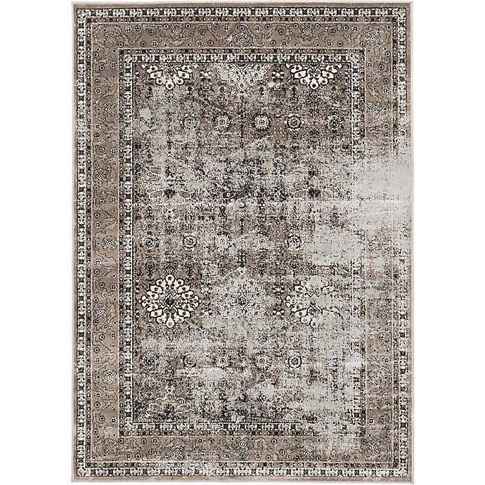 Frost Antique Wash 5-Foot 3-Inch X 7-Foot 3-Inch Area Rug
