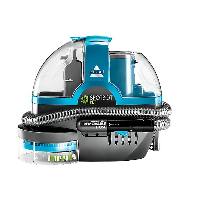 Alternate image 1 for BISSELL® SpotBot® Pet Deluxe Portable Carpet Cleaner in Disco Teal