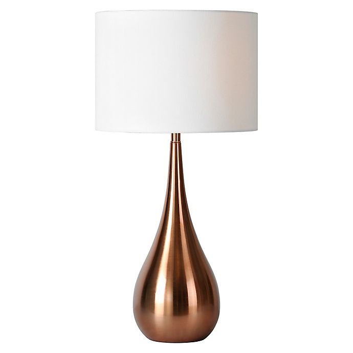 Alternate image 1 for Pandora Table Lamp in Copper