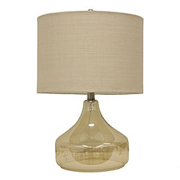 Jimco Luster Glass Table Lamp in Silver