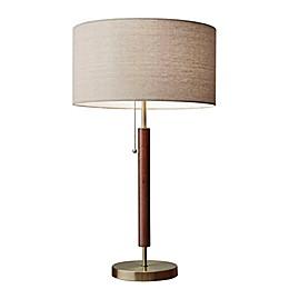 Adesso® Hamilton Table Lamp in Walnut