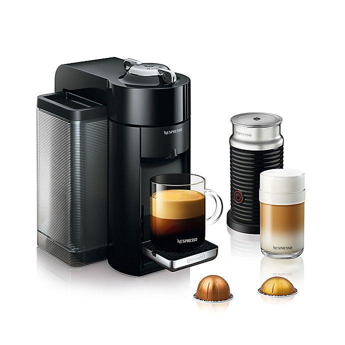Alternate image 1 for Nespresso® by De'Longhi Vertuo Coffee and Espresso Machine with Aeroccino