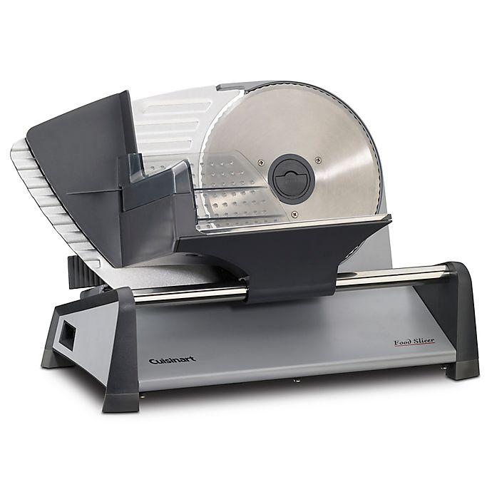 Alternate image 1 for Cuisinart® Stainless Steel Food Slicer