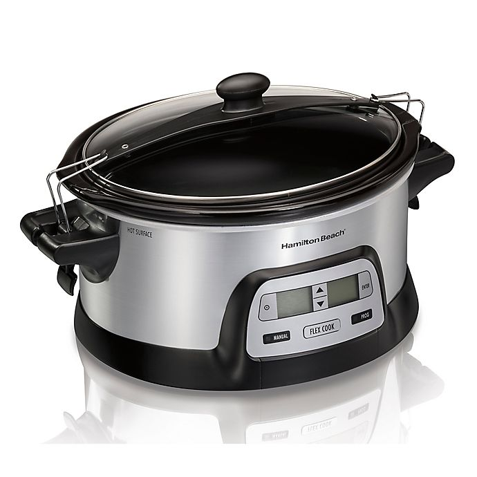 Alternate image 1 for Hamilton Beach® Flex Cook 6-Quart Slow Cooker