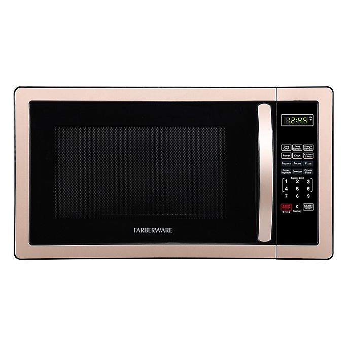 Alternate image 1 for Farberware® Classic 1.1 Cubic Foot Microwave Oven in Copper/Black