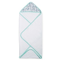 aden® by aden + anais® Hooded Towel in Indigo Trail