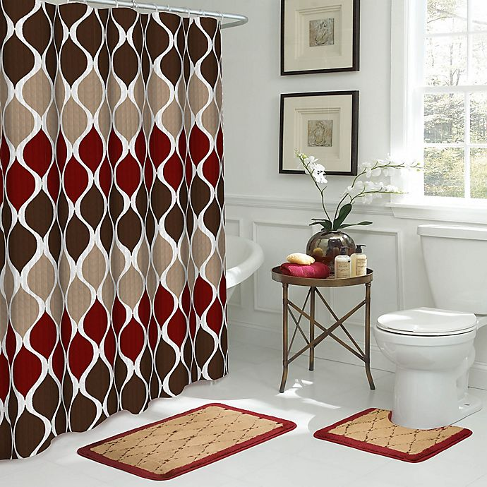 Alternate image 1 for Clarisse 15-Piece Bath Bundle Set in Brown