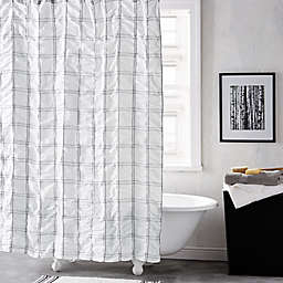 DKNY® Check Please 72-Inch Shower Curtain