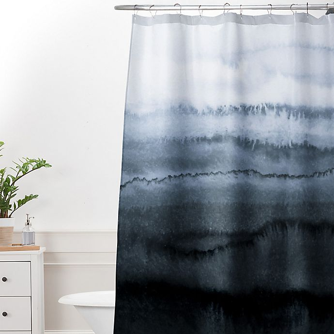 Alternate image 1 for Deny Designs Monika Strigel Within the Tides Stormy Weather Shower Curtain