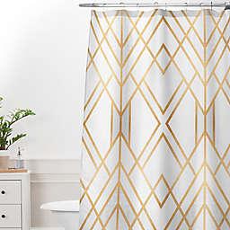 Deny Designs Elisabeth Frederiksson Geo Shower Curtain