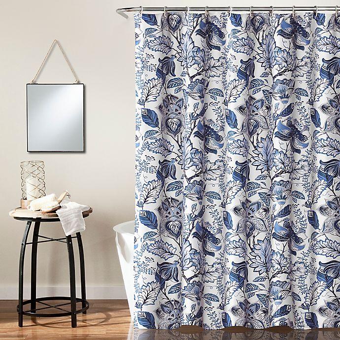 Alternate image 1 for Cynthia Jacobean Shower Curtain