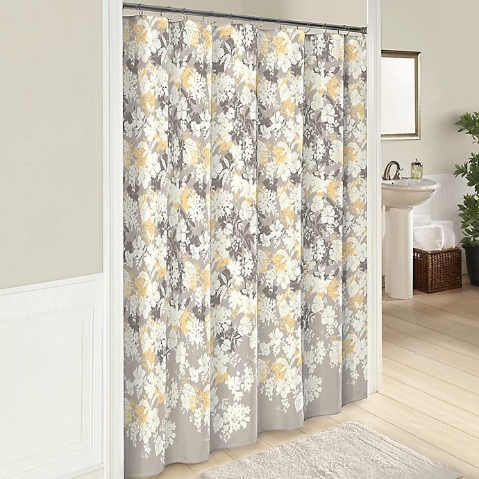 Alternate image 1 for Garden Party 72-Inch Cotton Shower Curtain in Grey