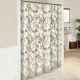 Garden Party 72-Inch Cotton Shower Curtain in Grey