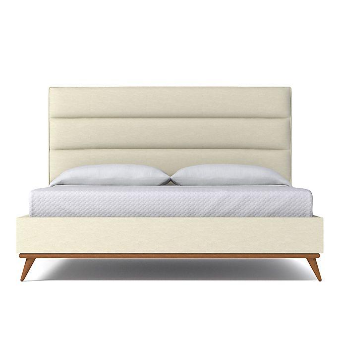 Alternate image 1 for Kyle Schuneman for Apt2B Cooper King Upholstered Bed in Cream