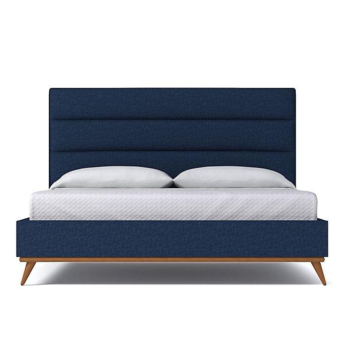 Alternate image 1 for Kyle Schuneman for Apt2B Cooper King Upholstered Bed in Navy