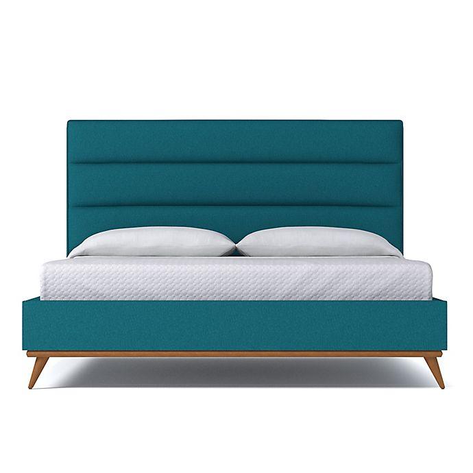 Alternate image 1 for Kyle Schuneman for Apt2B Cooper King Upholstered Bed in Biloxi Blue
