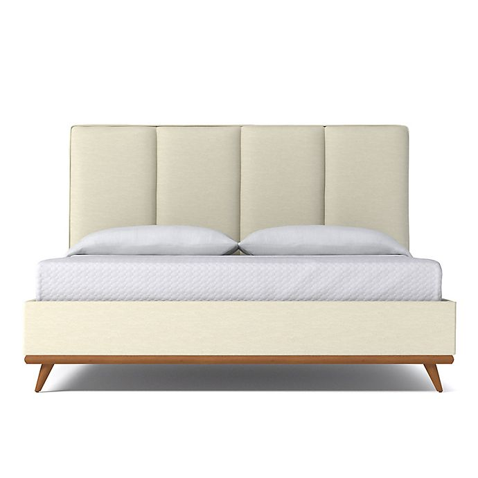 Alternate image 1 for Kyle Schuneman for Apt2B Carter Full Upholstered Bed in Cream