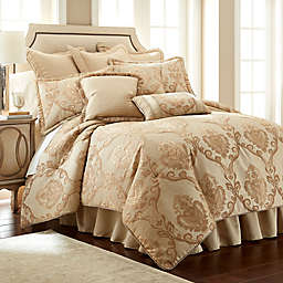 Austin Horn Classics Prosper Comforter Set in Copper/Gold
