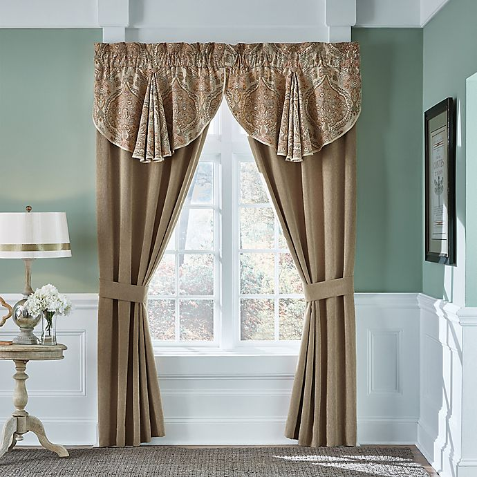 Croscill 174 Birmingham Window Curtain Panel Pair And Valance