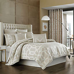 J. Queen New York™ Kingsgate Comforter Set in Beige