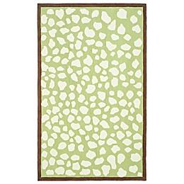 Safavieh Kids® Pebbles Rug in Green/Ivory