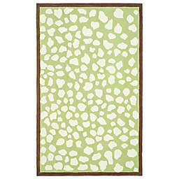 Safavieh Kids® Pebbles Rug in Green/Ivory