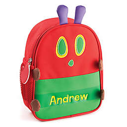 Personalized Very Hungry Caterpillar Lunch Bag in Red