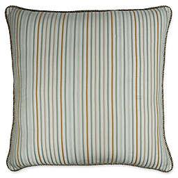 Austin Horn Classics Lexington European Pillow Sham in Natural/Aqua