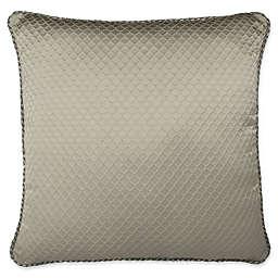 Austin Horn Classics Elegance European Pillow Sham in Taupe/Grey