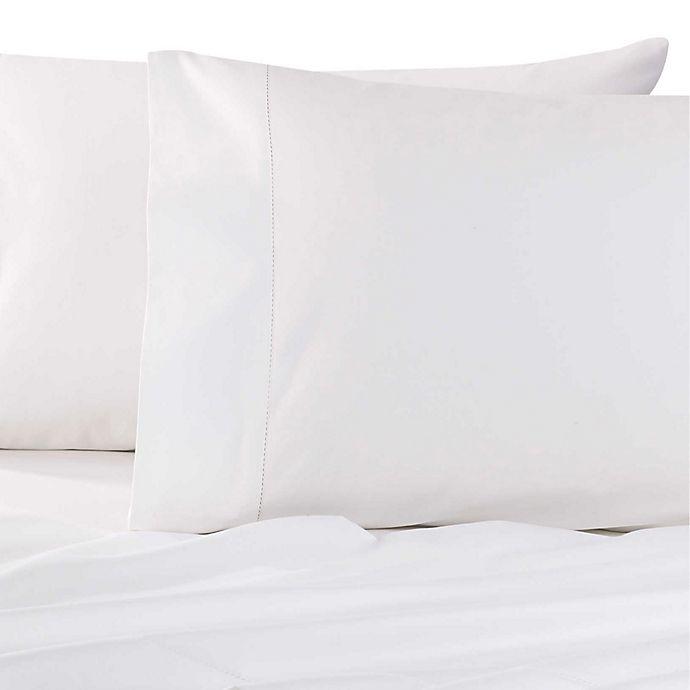 Alternate image 1 for Wamsutta® Dream Zone® 750-Thread-Count PimaCott® Sheet Set in White