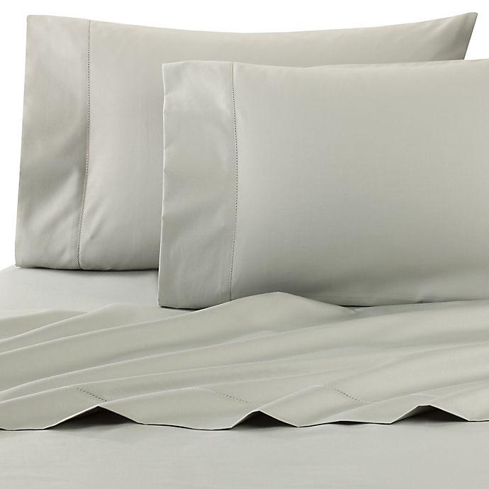 Alternate image 1 for Wamsutta® Dream Zone® PimaCott® Standard Pillowcases in Mint (Set of 2)