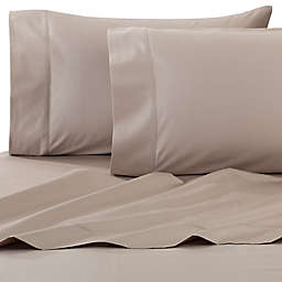 Wamsutta® Dream Zone® PimaCott® 750-Thread-Count Twin Sheet Set in Taupe