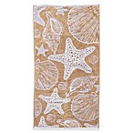 Sea Life Beach Towel in Sand