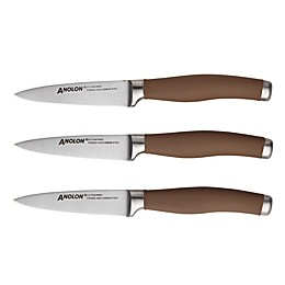 Anolon® Sure Grip Cutlery 3-Piece Pairing Knife Set in Bronze