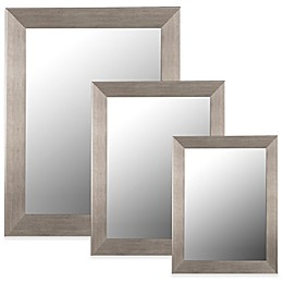 Hitchcock-Butterfield Baroni Grande Wall Mirror in Silver