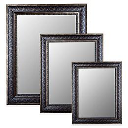 Hitchcock-Butterfield Gold Scroll Wall Mirror in Bordeaux Bronze