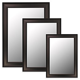 Hitchcock-Butterfield Ceylon Bevel Edge Wall Mirror in Black