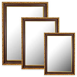 Hitchcock-Butterfield Chateau Wall Mirror in Antique Cherry/Gold