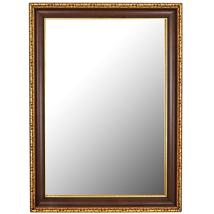 Alternate image 1 for Hitchcock-Butterfield Chateau 30-Inch x 66-Inch Wall Mirror in Antique Cherry/Gold